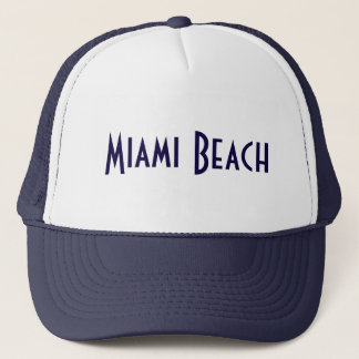 Miami Beach Trucker Hat