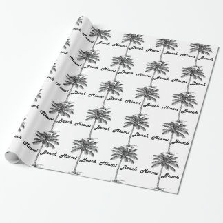 Miami Beach Wrapping Paper
