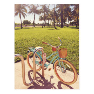 Miami Bicycle Postcard