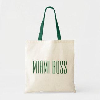 Miami Boss Budget Tote Bag