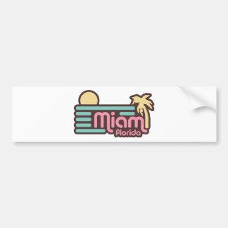Miami Bumper Sticker