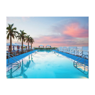 Miami Canvas Print