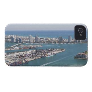 Miami Cityscape 2 iPhone 4 Case-Mate Case