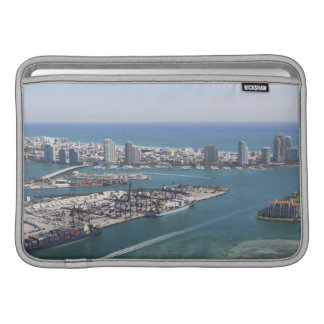 Miami Cityscape 2 Sleeve For MacBook Air