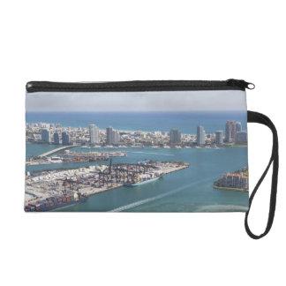 Miami Cityscape 2 Wristlets