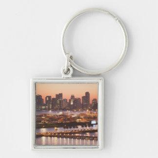 Miami Cityscape Key Chain