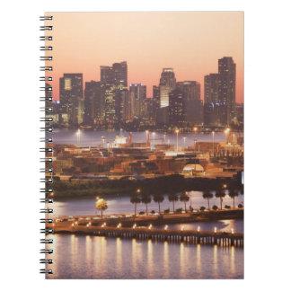 Miami Cityscape Notebook