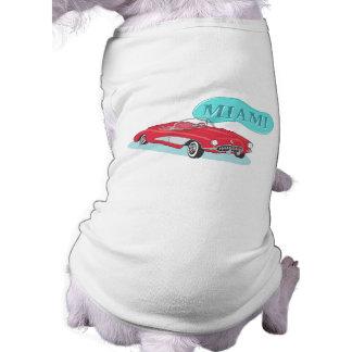 Miami Classic Corvette Sleeveless Dog Shirt