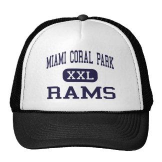Miami Coral Park - Rams - High - Miami Florida Cap