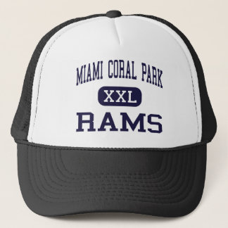 Miami Coral Park - Rams - High - Miami Florida Trucker Hat