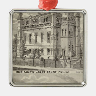 Miami County Court House Christmas Ornament