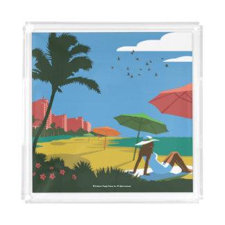 Miami, FL Acrylic Tray