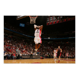 MIAMI, FL - FEBRUARY 5: LeBron James #6 of the Poster