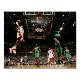 MIAMI, FL - MAY 30:  LeBron James #6 of the 3 Poster