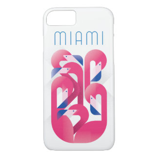 Miami Flamingo Color iPhone 8/7 Case