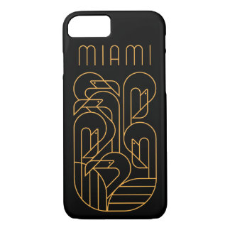 Miami Flamingo Gold iPhone 8/7 Case