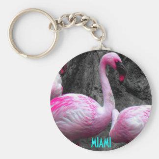 ~Miami Flamingo~ KEYCHAIN
