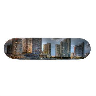 Miami, Florida 19.7 Cm Skateboard Deck
