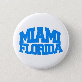Miami Florida 6 Cm Round Badge