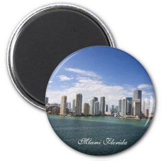Miami Florida 6 Cm Round Magnet