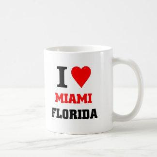 Miami Florida Basic White Mug