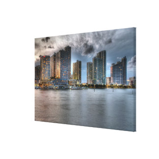 Miami, Florida Canvas Print