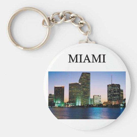 MIAMI florida Key Ring