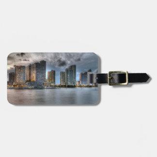 Miami, Florida Luggage Tag