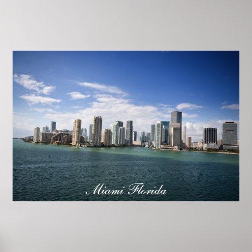 Miami Florida Poster