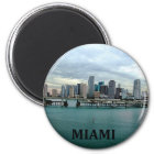 Miami Florida Skyline Magnet