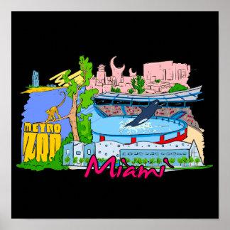 Miami - Florida - United States of America.png Print