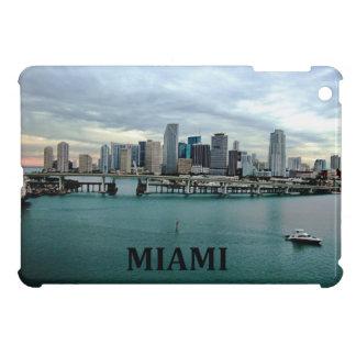 Miami Florida Urban City Skyline Skyscrapers Case For The iPad Mini