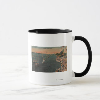 Miami, Florida - View of Fishing Mug