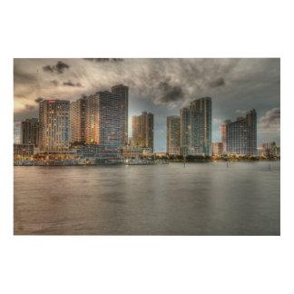 Miami, Florida Wood Print