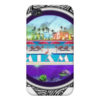 Miami iPhone 4/4S Speck® Fitted™ Hard Shell Case Cases For iPhone 4