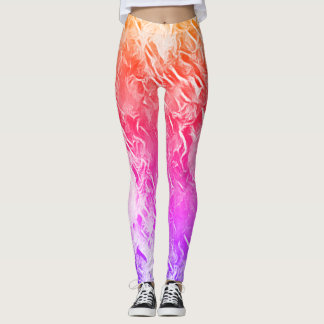 Miami Liquid Paint Love Pray Leggings
