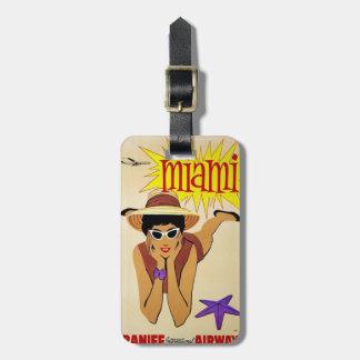 Miami Luggage Tag