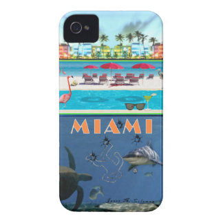 Miami Mystery for Blackberry Bold (Case-Magic) iPhone 4 Case-Mate Case
