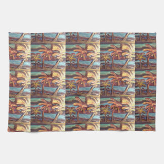 Miami Palms Kitchen Towel