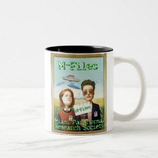 Miami Paranormal Research Society Two-Tone Coffee Mug