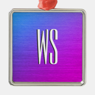 Miami Shine Monogram Christmas Ornament