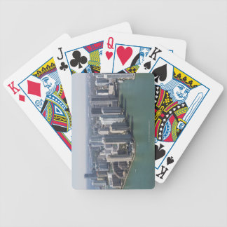 Miami Skyline 2 Bicycle Playing Cards