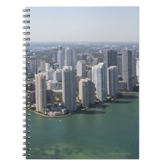 Miami Skyline 2 Spiral Notebook