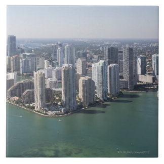 Miami Skyline 2 Tile