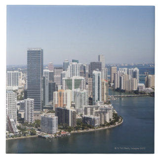 Miami Skyline 3 Tile