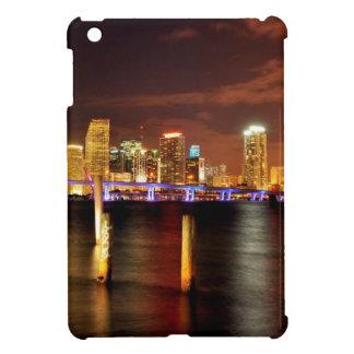 Miami skyline at night, Florida Cover For The iPad Mini