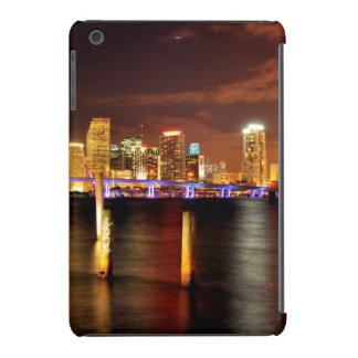 Miami skyline at night, Florida iPad Mini Retina Covers