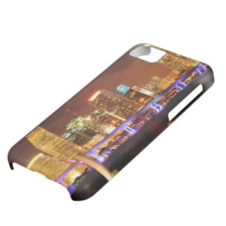Miami skyline at night, Florida iPhone 5C Case