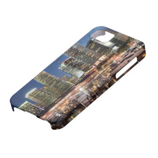 Miami skyline city in Florida Barely There iPhone 5 Case
