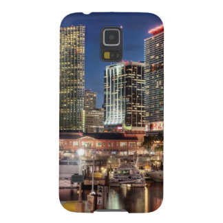 Miami skyline city in Florida Cases For Galaxy S5